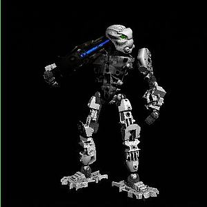 3d骷髏<font class='myIsRed'>機器人</font>模型