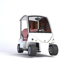 高尔夫球车模型