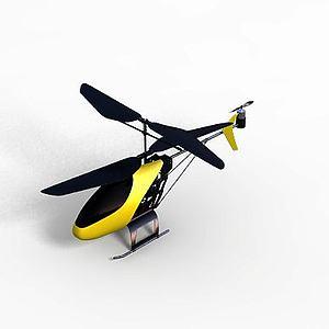 玩具飞机模型3d模型