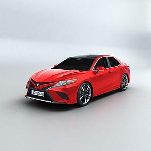 3d豐田凱美瑞模型