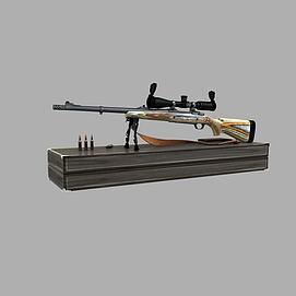 狙击枪3D模型