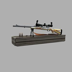 狙擊槍模型3d模型