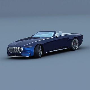 梅赛德斯-迈巴赫3d模型