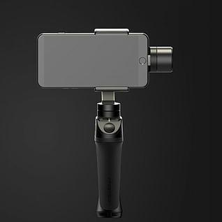 手机自拍杆3d模型