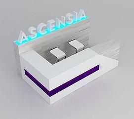 接待台3D模型