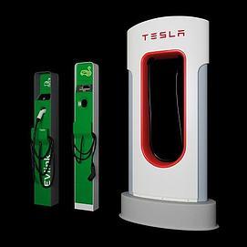 汽车充电桩模型