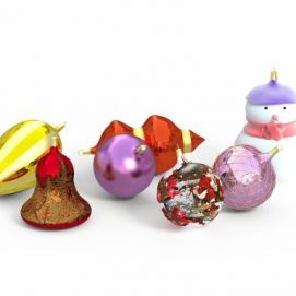 圣誕節裝飾物模型