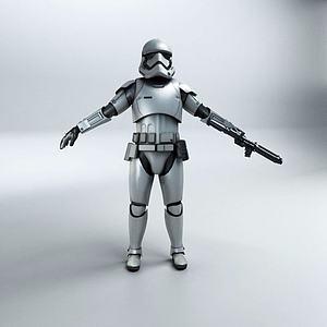 機器人模型3d模型