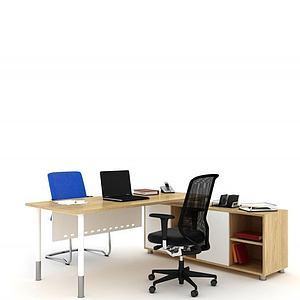 3d现代<font class='myIsRed'>办公桌</font>老板桌模型
