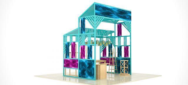 销售木房模型