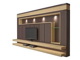 电视墙模型