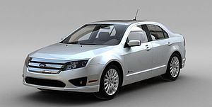 福特2010模型3d模型