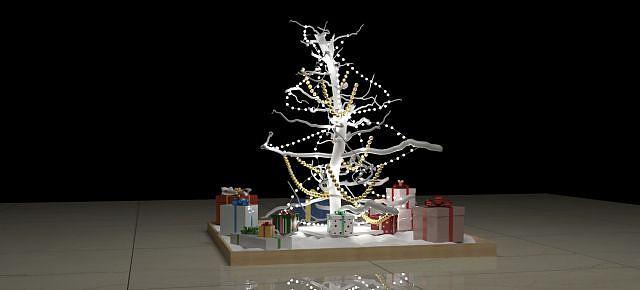 圣诞树模型