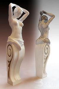 人物雕塑擺件模型3d模型