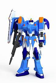 蔚蓝决斗高达3D模型