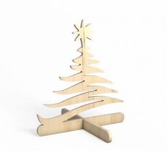 木质拼接圣诞树