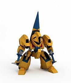 麦塔斯高达3D模型