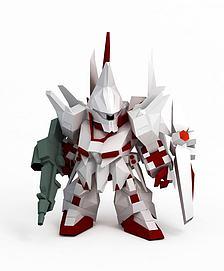 龙飞高达3D模型