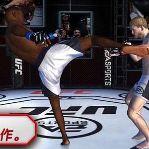 UFC游戏人物带绑定模型