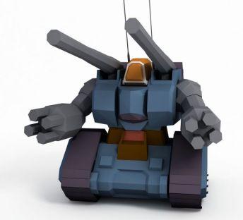量产型钢坦克