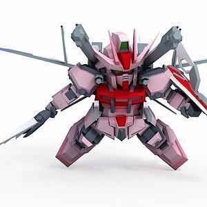 強襲嫣紅IWSP模型3d模型