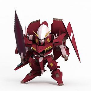 座天使3模型3d模型