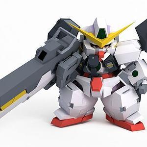 德天使模型3d模型