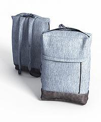 现代布艺背包模型3d模型
