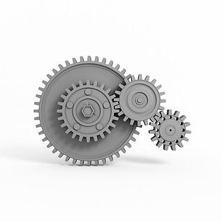 3d齒輪模型