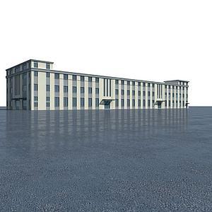 厂房模型3d模型