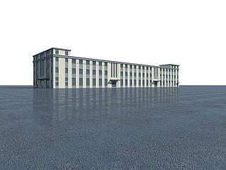 厂房3d模型