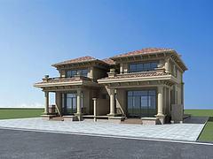 欧式别墅模型3d模型