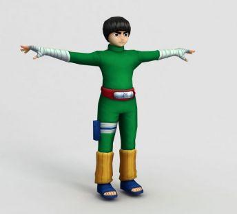 火影忍者RockLee少年