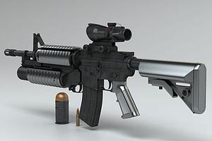 M416突击步枪