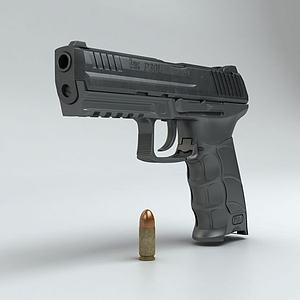 HK P30L手枪模型