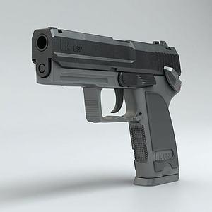 HK_USP手枪模型