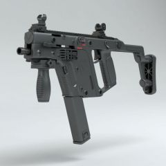 VECTOR冲锋枪模型3d模型