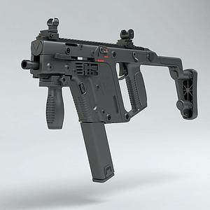 VECTOR沖鋒槍模型3d模型