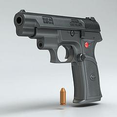 WIST-94半自动手枪模型3d模型