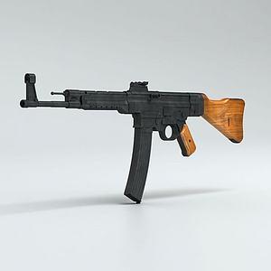 突擊步槍3d模型