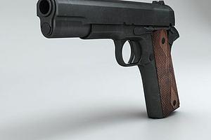 游戏手枪武器道具