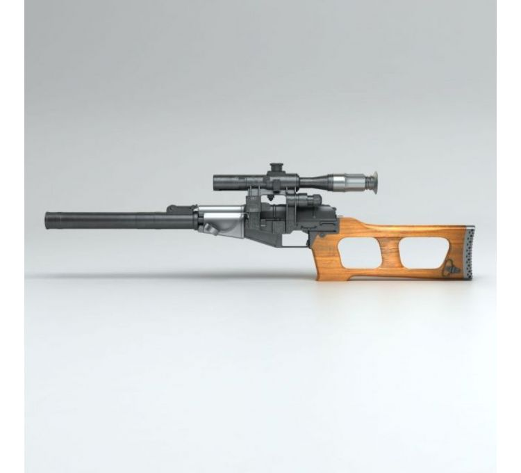 Vintorez狙击步枪模型