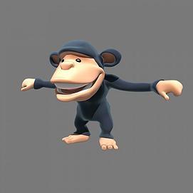 超Q黑猩猩模型