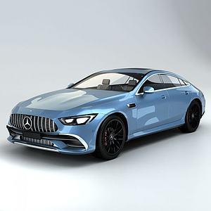 梅赛德斯奔驰AMG_GT模型3d模型