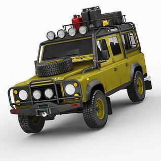 路虎汽车3d模型