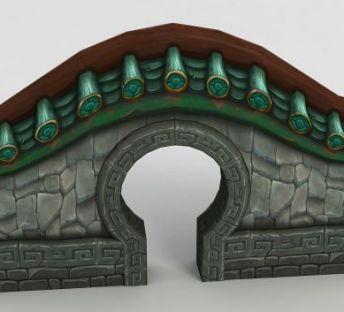 魔兽世界月洞门