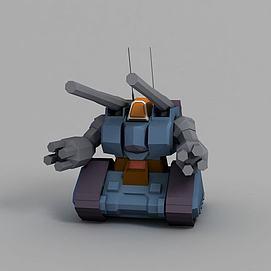量产型钢铁坦克模型