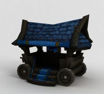魔兽世界游戏作战车