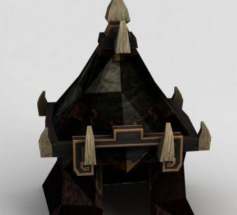魔兽世界游戏帐篷