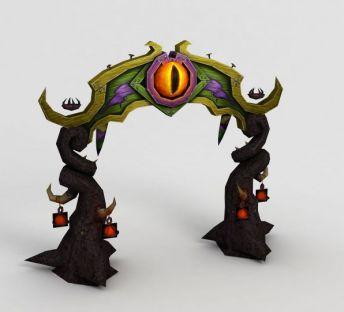 魔兽世界游戏大门